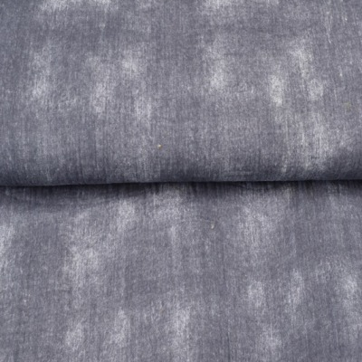 Musselin EUR/m Batikoptik grau Double Gauze