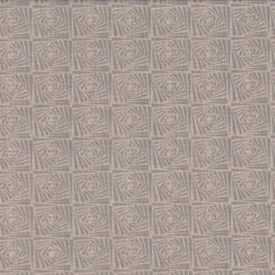 Taschenstoff Dekostoff grau hellgrau Quadrate Anton