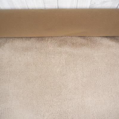 Reststueck Kunstleder Maro sand beige Antikleder - Reststueck 0 45 m