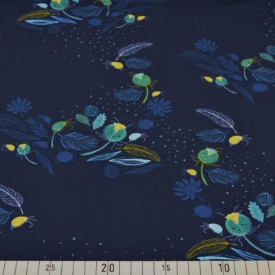 Jersey Blaubeerstern Dark Night nachtblau dunkelblau