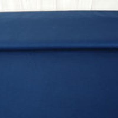 Reststueck Baumwolle Webware Fahnentuch blau dunkelblau - Reststueck 0 35 m
