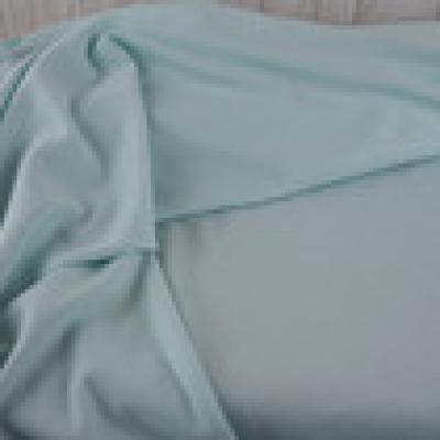Reststück Strickstoff Lisa mint - Reststück
