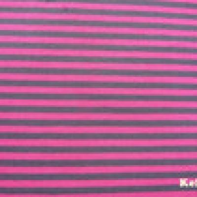 Reststueck Jersey Ringel Streifen gestreift pink grau - Reststueck 0 55 m