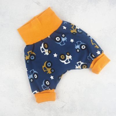 Pumphose Baby Jungs Trecker dunkelblau mit