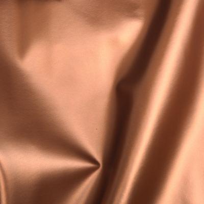 Kunstleder EUR/m kupfer glänzend metallic Lederimitat