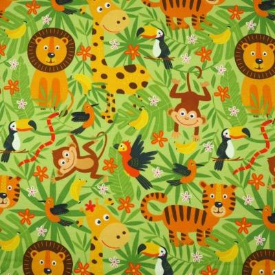 Jersey Tiere Jungle Dschungel wilde Tiere