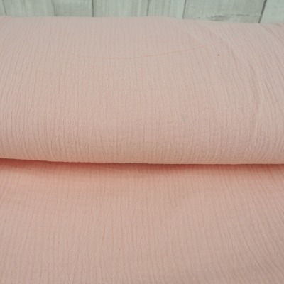Musselin EUR/m Double Gauze Windelstoff rosa