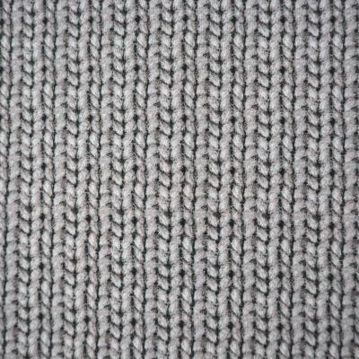 Cosy knitting Cherry Picking grau Strickoptik