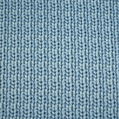 Cosy knitting Cherry Picking hellblau Strickoptik