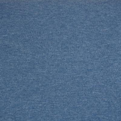 Jersey jeansblau melange meliert Denimlook Stoff