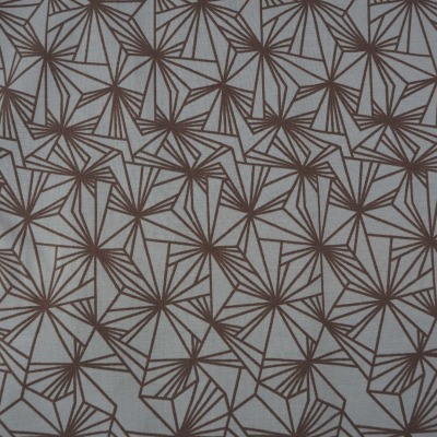Jersey braun Shapes Linien geometrisch Finlayson
