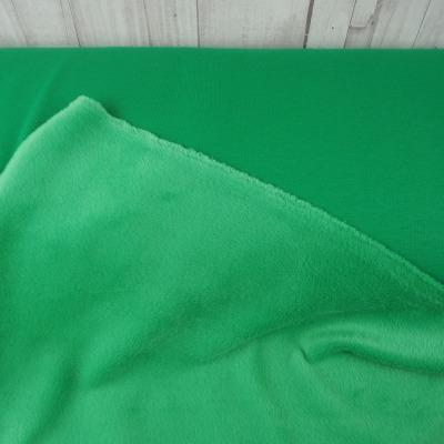 Alpenfleece Wintersweat grün Sweat grasgrün kuscheliger