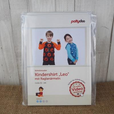 Pattydoo Schnittmuster Kindershirt Leo Raglan