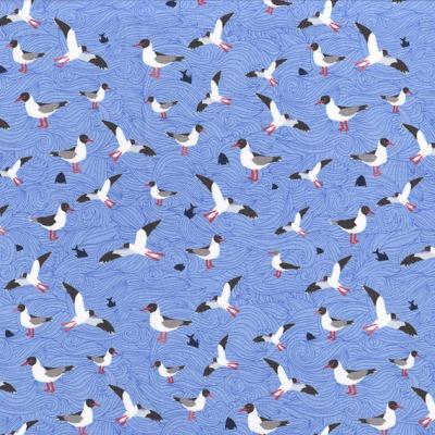 Jersey Seagull Wave Lila-Lotta Möwen Shirt