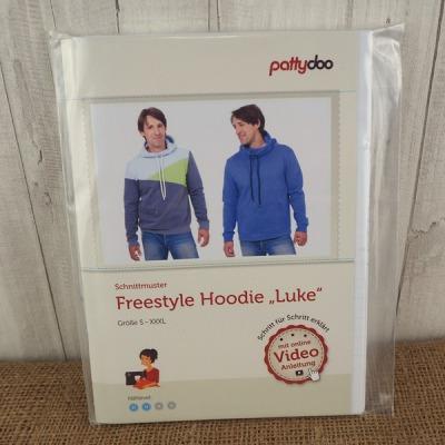 Pattydoo Schnittmuster Freestyle Hoodie Luke