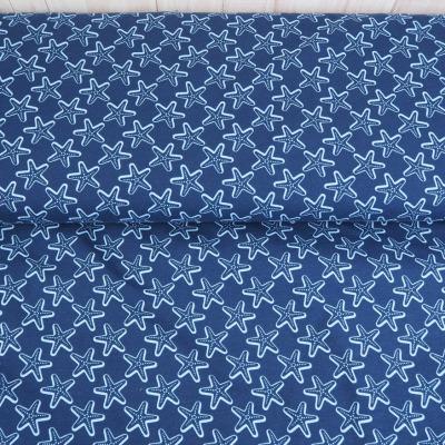 Jersey Seesterne blau