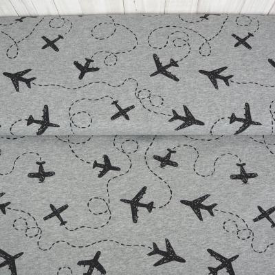 Jersey Let s fly away Flugzeuge grau