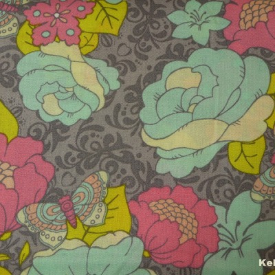 Camelot Penelope Blumen Schmetterlinge Patchwork