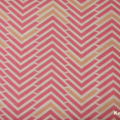 Camelot Penelope Chevron pink rosa gelb