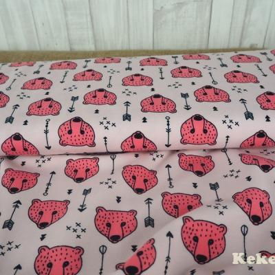 Jersey rosa Bären Pfeile pastell
