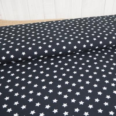 Jersey Sterne schwarz weiß
