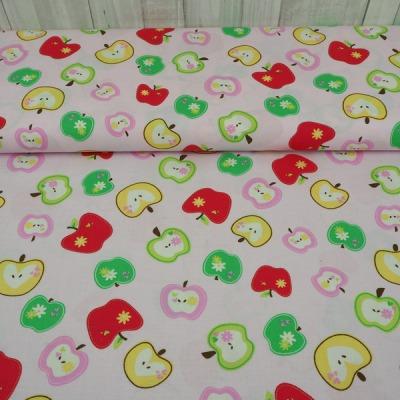 Baumwolle Swafing Äpfel Wendelin rosa