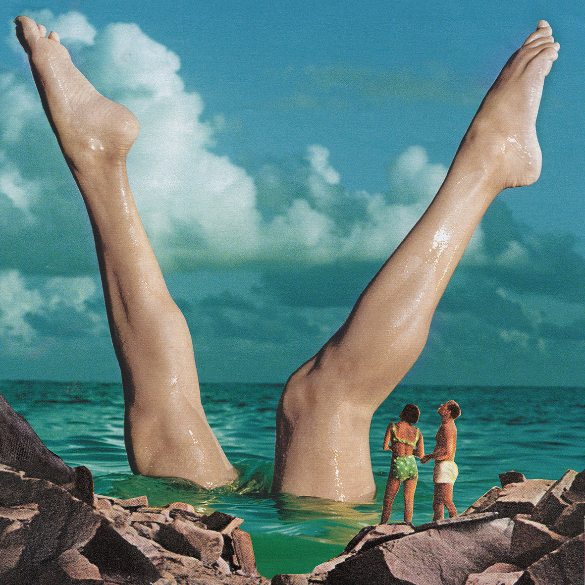 Schoene Beine / Nice Legs / Fine Art Print / Poster / Plakat