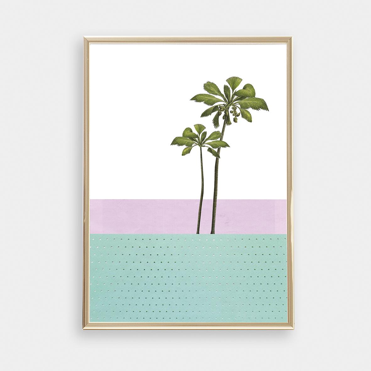 Palme 01 / Kunstdruck / Fine Art Print / Poster / Plakat