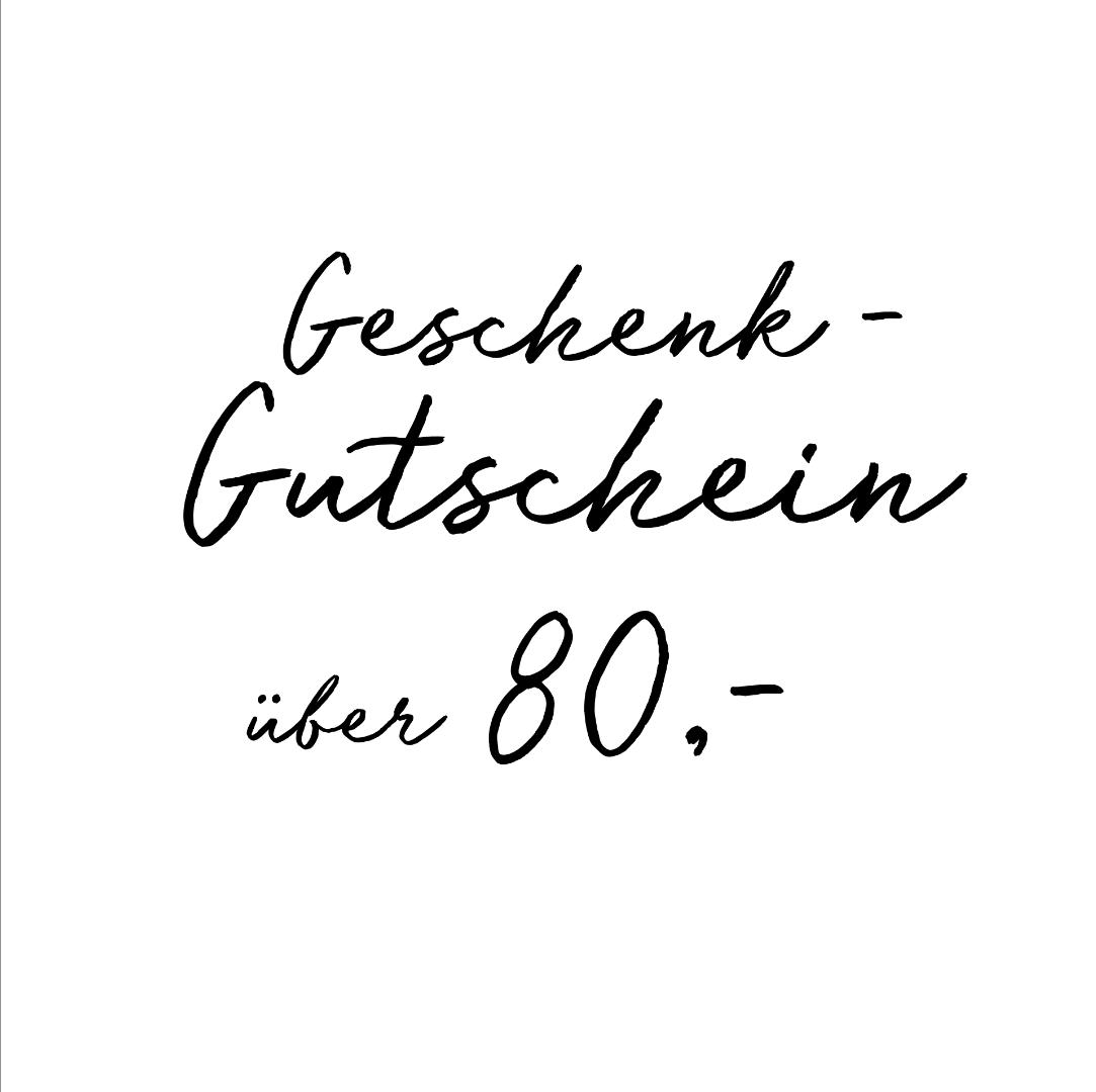 Gutschein über 80- EUR