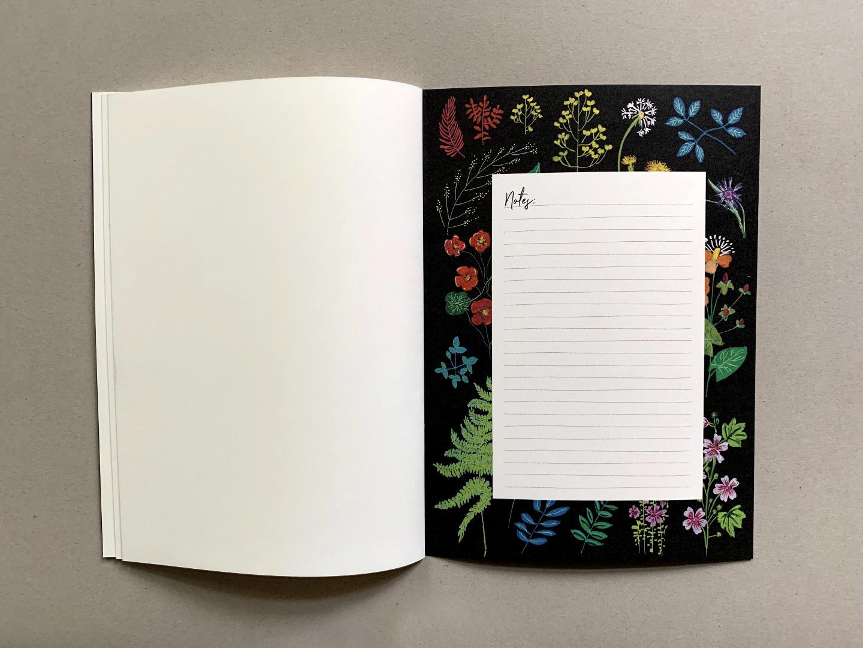 Notizheft DIN A5 Wald und Wiesenblumen - 4