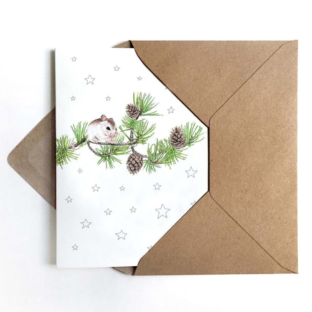 Grußkarten Set Weihnachten Weihnachtskarten 3