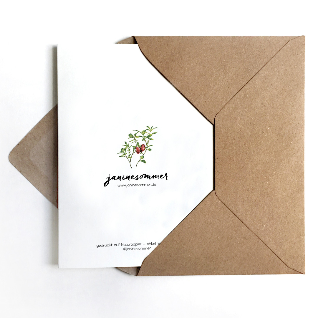 Grusskarte Fliegenpilz Geburtstagskarte Karte Viel Glueck
