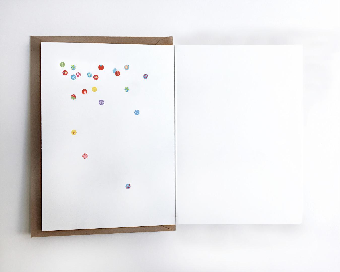 Grußkarte Partymaus, Geburtstagskarte - 3