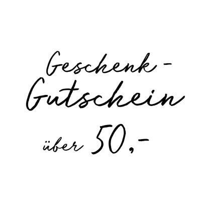 Gutschein über 50- EUR