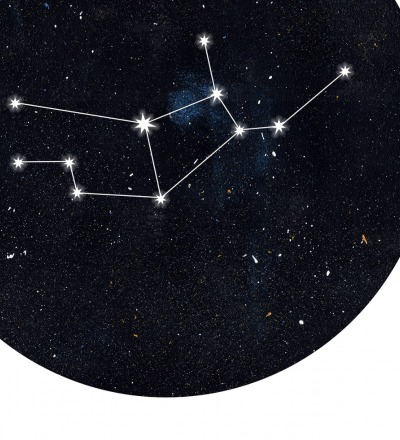 Sternzeichen Jungfrau Poster Kunstdruck DIN A4