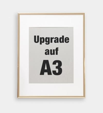 Upgrade auf A3 fuer Collagen - Upgrade von A4 auf A3 fuer Collagen in meinem Shop