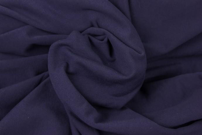 French Terry Sommersweat dunkelblau marine