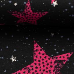 Jersey Sterne pink Swafing 3