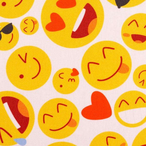 Baumwolle Smileys Emojis Swafing Kim
