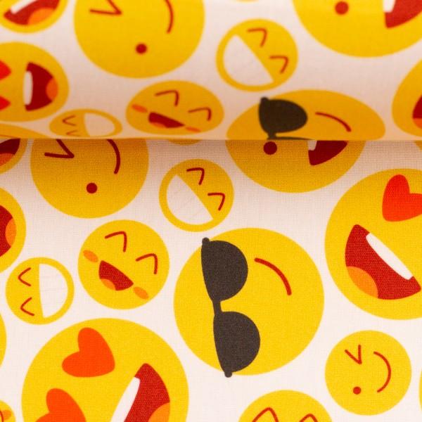 Baumwolle Smileys Emojis Swafing Kim 3