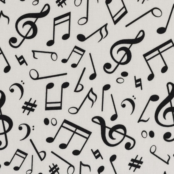 Baumwolle Noten Musik Swafing Kim