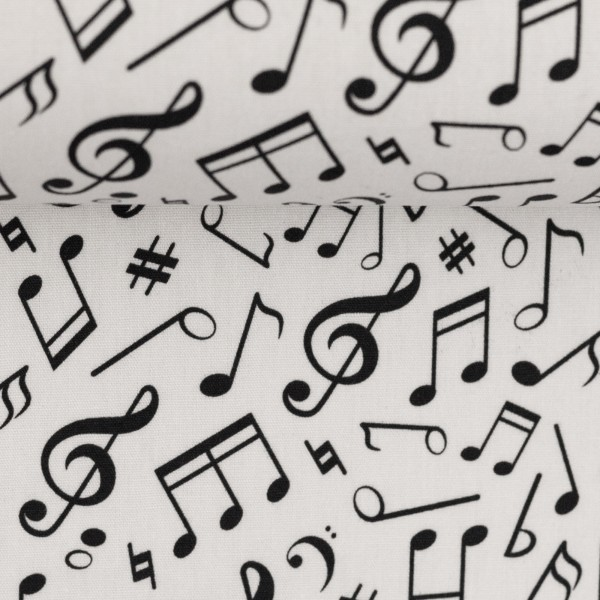 Baumwolle Noten Musik Swafing Kim 3
