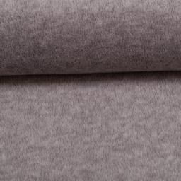 Wellnessfleece Fleece meliert grau