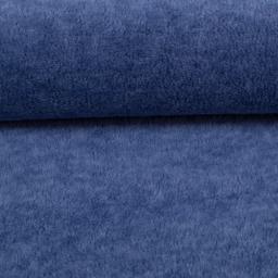 Wellnessfleece Fleece meliert blau