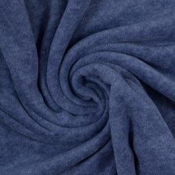 Wellnessfleece Fleece meliert blau 2