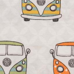 Dekostoff Taschenstoff VW- Bulli