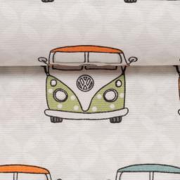 Dekostoff Taschenstoff VW- Bulli 3
