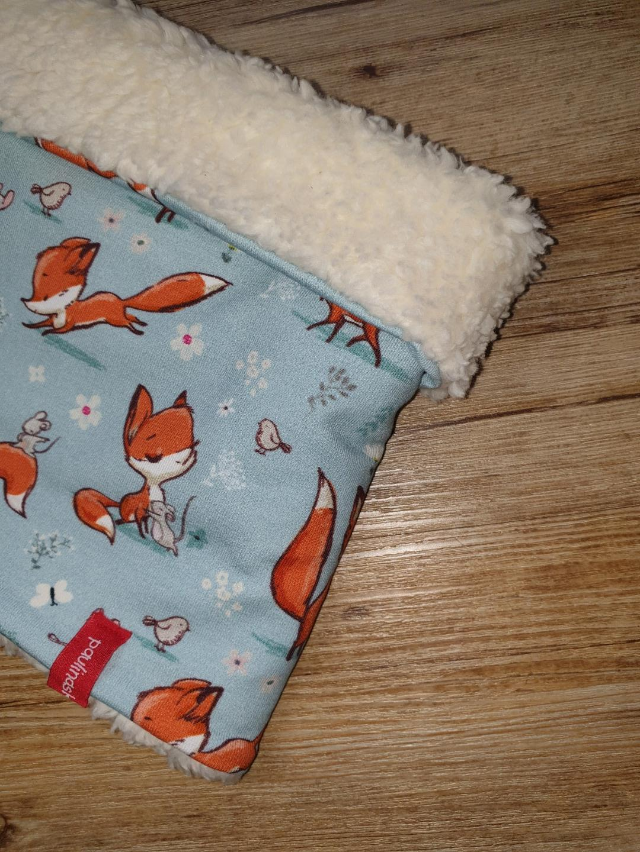 Kinderloop Schlupfschal Füchse 3