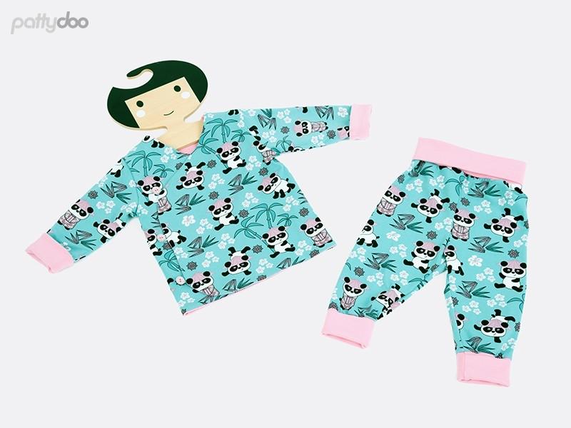 Schnittmuster Pippa Babyset von pattydoo 6