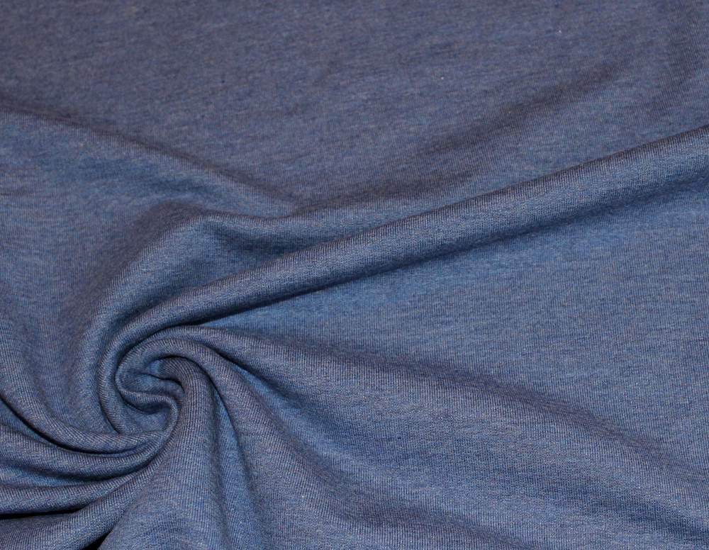 Swafing Sweat blau meliert - 1